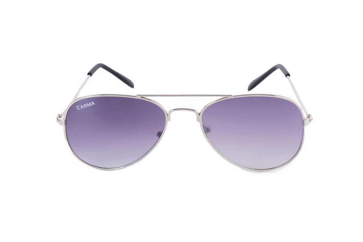 gafas aviador niños plata